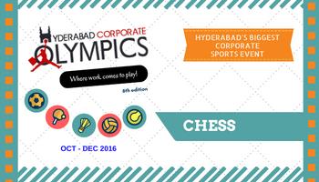 6th Hyderabad Corporate Olympics - Chess