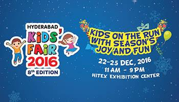 8th Edition Hyderabad Kids Fair - 2016