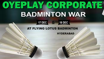OyePlay Corporate Badminton Tournament