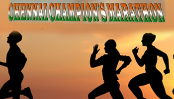 Chennai Champions Marathon - Run for Mentally Challengers