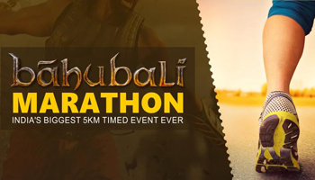 Bahubali Marathon - Indias Biggest 5KM Timed Event