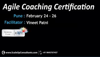 Agile Coach Certification, Pune - February 2016
