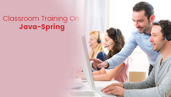 Classroom Training On Java-Spring