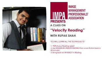 Velocity Reading with Rupak Shah