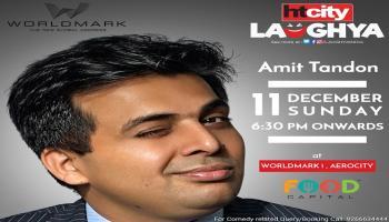 HT City Laughya with Amit Tandon Live at Worldmark, Aerocity