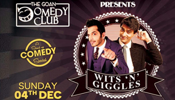 WITTS N GIGGLES Stand Up Comedy Special Feat Nitin Mirani 4th Funniest Man In The World And Varun Thakur Youtube Sensation