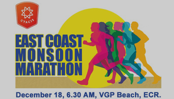 Spirit Of Chennai - East Coast Monsoon Marathon