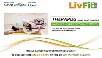 LivFit India 2016- Therapies by Dr.Rajat Chauhan copy