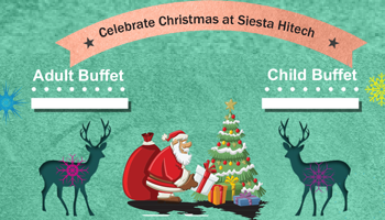 Celebrate Christmas at Siesta Hitech