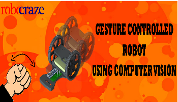 Gesture Controlled Bot using Computer Vision