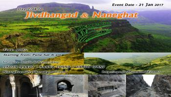 1 Day Trek to Jivdhangad and Naneghat on 21 Jan 2017 by Nisarg Premi Trekkers