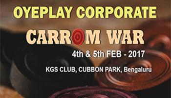 OyePlay Corporate Carrom WAR