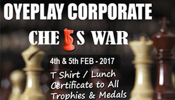 OyePlay Corporate Chess WAR