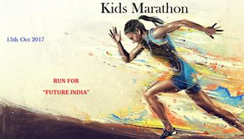 Kids Marathon at Chennai Marina Lighthouse