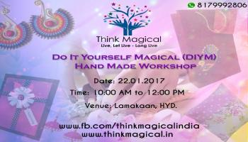Do It Yourself Magical (DIYM) - A workshop on Handmade Products