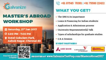 Masters Abroad Workshop
