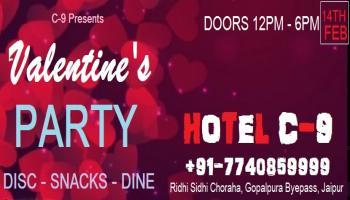 C9 Presents Valentines Party