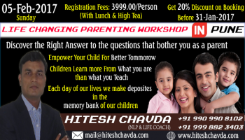 Life Changing Parenting Workshop in PUNE