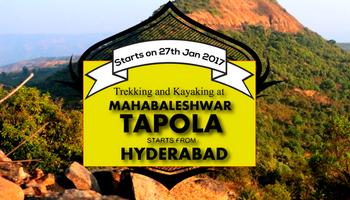 Trekking and Kayaking at Tapola  near Mahabaleshwar