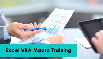 Excel VBA Macro Training in Chennai