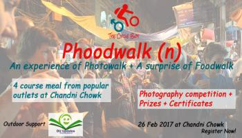 Phoodwalk = Photowalk + Foodwalk