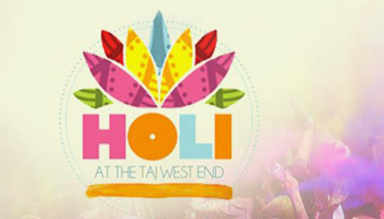 Holi Festival at Taj West End