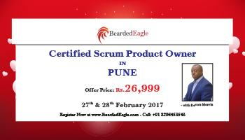 Certified Scrum Product Owner (CSPO) Certification Training in Pune, India