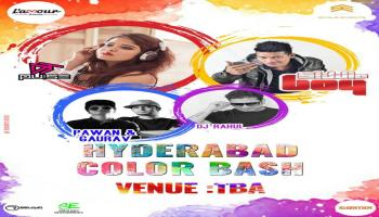 Hyderabad Color Bash (Holi Celebration)