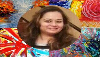Finger Painting Workshop by Trishna Patnaik