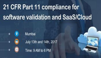 21 CFR Part 11 compliance for software validation and SaaS/Cloud