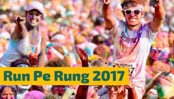 Run Pe Rung 2017 - Holi run event by decathlon