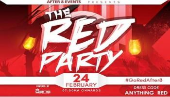 The Red Party - 24th Feb at 1 Lounge
