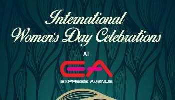 International Womens Day Celebrations - Live Band at Express Avenue Mall