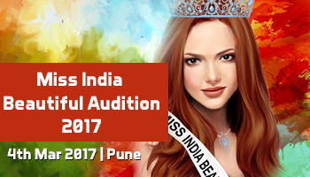 Miss India Beautiful Audition 2017 - Pune