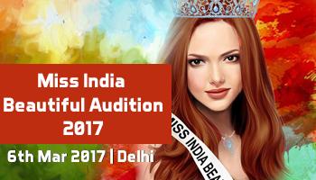 Miss India Beautiful Audition 2017 - Delhi