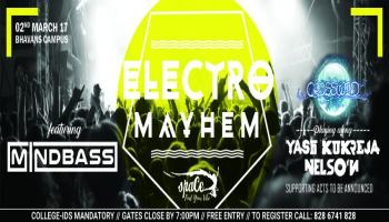 Crosswind Electro Mayhem at Space Fest 2017 Bhavans Campus