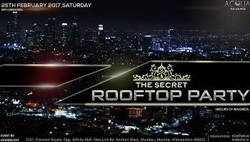 THE SECRET ROOFTOP PARTY