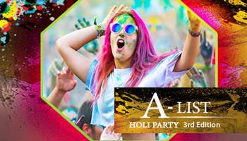 A-List Holi Party 3rd Edition