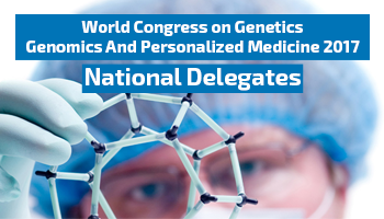 World Congress on Genetics, Genomics And Personalized Medicine 2017 - National Delegates