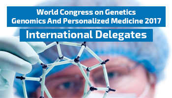 World Congress on Genetics, Genomics And Personalized Medicine 2017 - International Registration