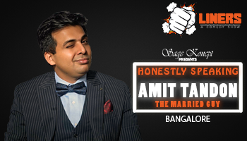 Punchliners: Honestly Speaking By Amit Tandon Bangalore