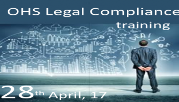 OHS Legal Compliance- One day training