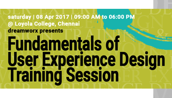 Fundamentals of User Experience Design - One day Training Session