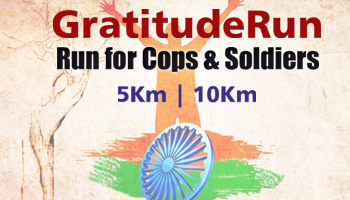 Gratitude Run - 2017, Run for Cops and Soldiers