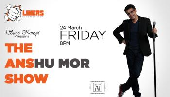 Punchliners: Stand Up Comedy Show feat. Anshu Mor at V Club