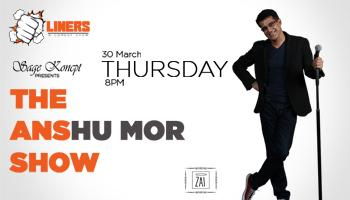 Punchliners: Stand Up Comedy Show feat. Anshu Mor at The Biere Club