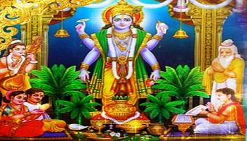 Satyanarayana Pooja and Homam
