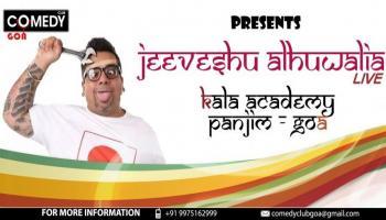 Comedy Club Goa Presents Jeeveshu Alhuwalia LIVE in GOA