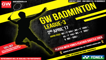 GW Badminton League 3