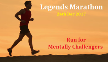 Legends Marathon - Run For Mentally Challengers